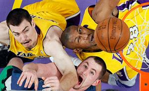 APTOPIX Timberwolves Lakers Basketball